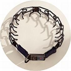 Pinch Collars 3.2mm Black Stainless Herm Sprenger buckle fastening