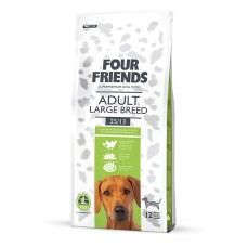 Four friends ADULT LARGE BREED  Breeder Bags 17 KG FREE DELIVERY ON FOOD ONLY
