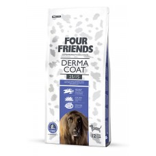 Four friends GRAIN FREE DERMA  FOOD  Breeder Bags 17 KG FREE DELIVERY ON FOOD ONLY