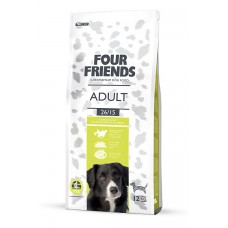 Four friends ADULT DOG FOOD  Breeder Bags 17 KG FREE DELIVERY ON FOOD ONLY