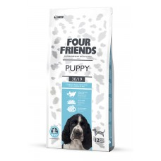 Four friends PUPPY DOG FOOD  Breeder Bags 17 KG FREE DELIVERY ON FOOD ONLY