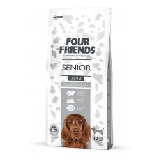 Four friends SENIOR DOG FOOD  Breeder Bags 17 KG FREE DELIVERY ON FOOD ONLY