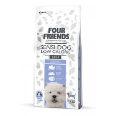 Four friends SENSI DOG LOW CALORIE FOOD  Breeder Bags 17 KG FREE DELIVERY ON FOOD ONLY