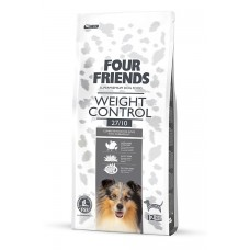 Four friends WEIGHT CONTROL FOOD  Breeder Bags 17 KG FREE DELIVERY ON FOOD ONLY